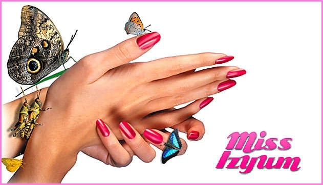 Фото ногти реклама